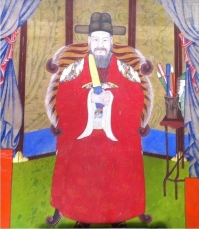 봉래 양사언의 초상..jpg