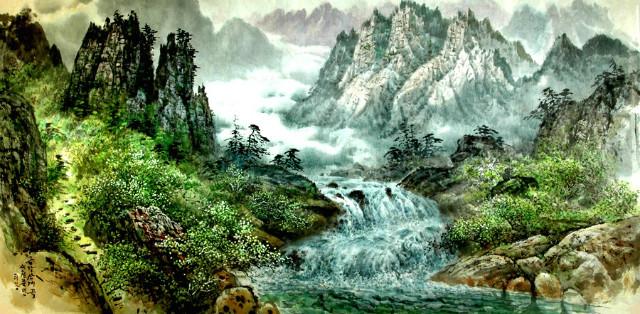 금강산 계곡 리강 그림.jpg