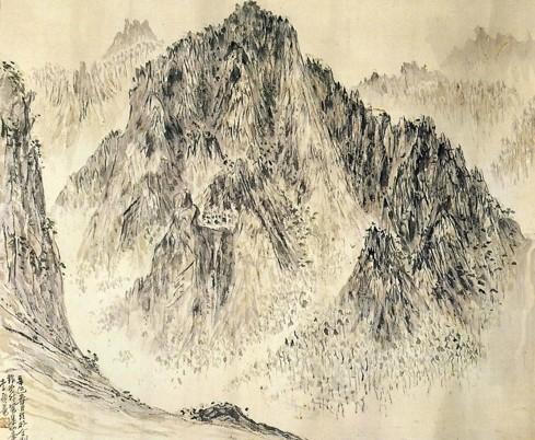 이응노, 집선봉, 1941.jpg
