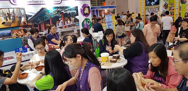 홍콩국제관광박람회에서 선보인 템플스테이, 사찰음식 홍보부스 (3).jpg
