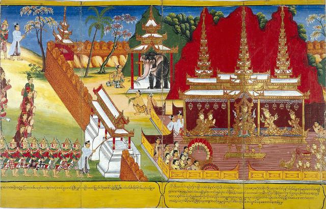 세 가지 다른 궁전(宮殿)Subha, Ramma 및 Suramma 중 하나이랍니다..jpg