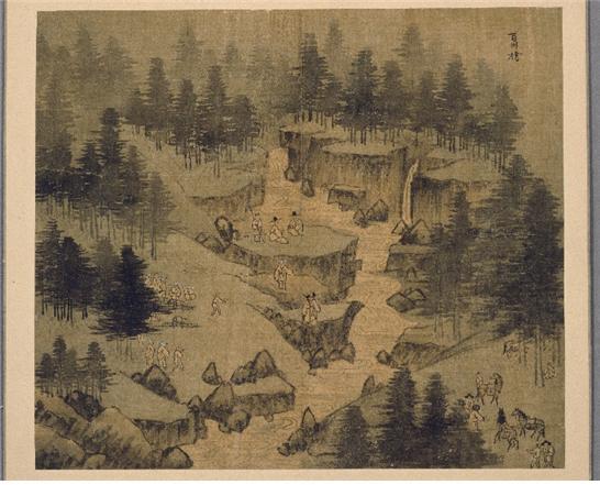 숭유억불의 한 면을 보여주는 정선의 〈신묘년 풍악도첩〉.jpg