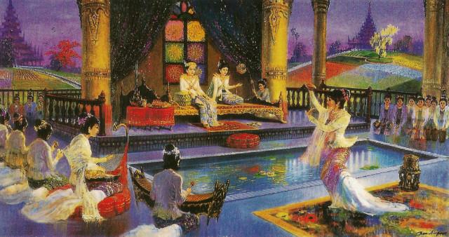 싯다르타(Siddhārtha)와 야소다라(Yasodhara)와 결혼(結婚)-2.jpg