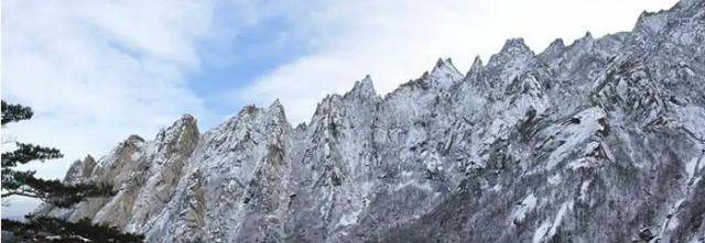눈쌓인 금강산 집선봉 (사진=조선의 오늘).jpg