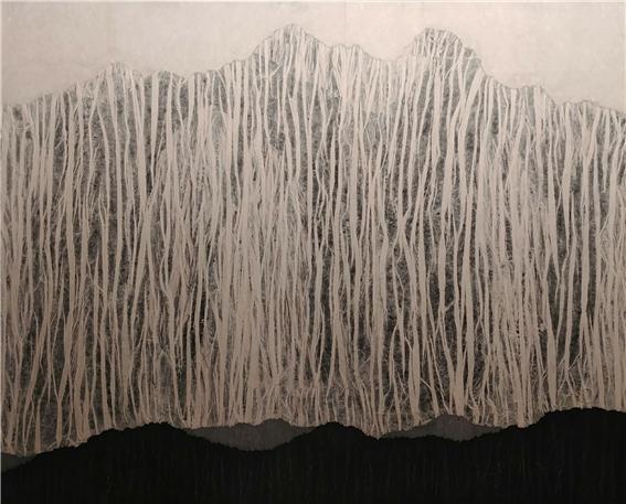무아무인천 (無我無人天)2, 2018, 종이 위에 혼합재료, 130.3 x 162.2cm.jpg
