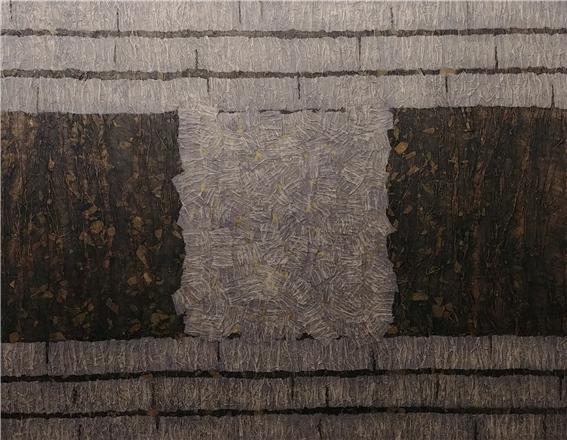 원시반본 (原始返本)6, 2018, 종이 위에 혼합재료, 91.0 x 116.8cm.jpg