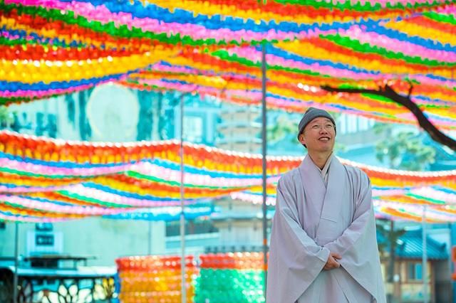 BTN 교양 프로그램 _출가_에 출연한 한국불교문화사업단장 원경스님_출처 BTN _출가_ 화면.jpg