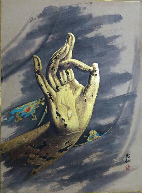 심상 마지에 금채색 72 x 53 cm 1986.jpg