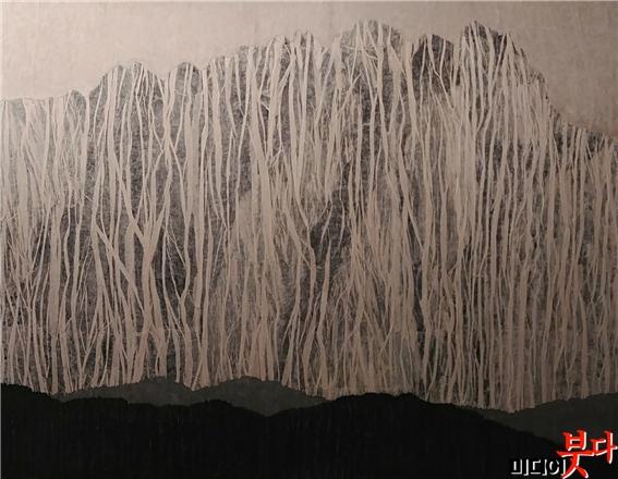 무아무인천 (無我無人天)1, 2018, 종이 위에 혼합재료, 130.3 x 162.2cm.jpg